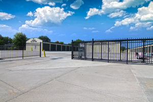 Lincoln Self Storage Gated Entry